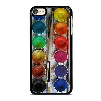 PAINT BOX WATERCOLOR iPod 4 5 6 Case