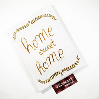 Home sweet home, Rustic home decor, Henna on canvas, Canvas art, Calligraphy, Home sweet home sign, Wall art quote, Henna canvas