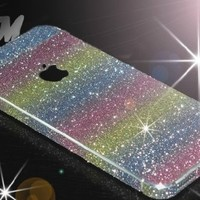 Iphone5/5s, Iphone4/4s Rainbow Sticker Protective Film (iPhone4/4S)
