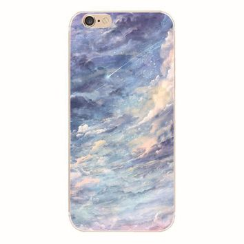Abstract Sky iPhone 6 6S Plus Case + Gift Box-128-170928