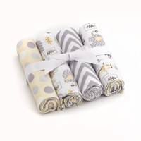 Just Born 4-pk. Security Blankets (Ivory)