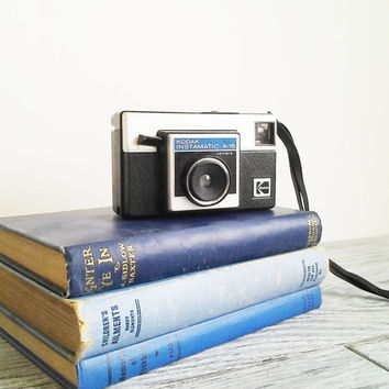 Vintage 1970's Kodak Instamatic X15 Black Camera by CocoAndBear