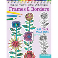 Color Your Own Stickers Frames and Borders by Valentina Harper