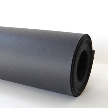 30 Feet Black Kraft Chalkboard Style Wrapping Paper Roll, Eco Friendly and Recyclable Gift Packaging,
