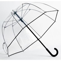 Premium Fiberglass Bubble Umbrella Color: Black Trim
