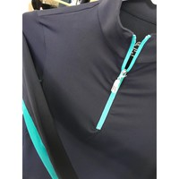Tailored Sportsman Zip Icefil Navy/Turquoise