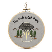The Truth is Out There Cross Stitch