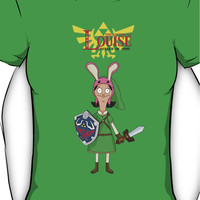 The Legend of Louise - Bob's Burgers Crossover Women's T-Shirt