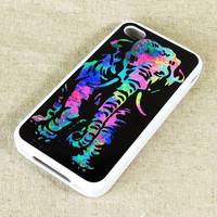 Cute Elephant Printing iPhone 5/4S/4 Case,iPod 5/4 Case and Samsung Galaxy S4/S3/S2/Note 2 Case
