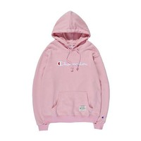 Champion Hooded Women Men Embroidery Top Sweater Hoodie