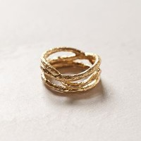Golden Thicket Ring by Anthropologie Gold 6 Jewelry