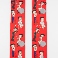 Odd Sox Betty Boop Icons Mens Tube Socks Red One Size For Men 26860130001