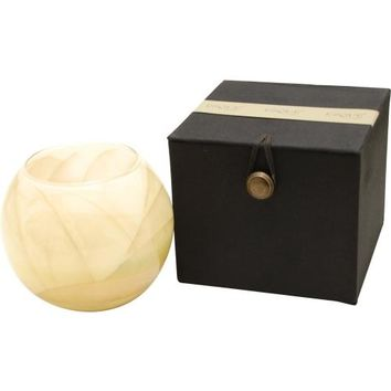 IVORY CANDLE GLOBE by IVORY CANDLE GLOBE THE INSIDE OF THIS 4 in POLISHED GLOBE IS PAINTED WITH WAX TO CREATE SWIRLS OF GOLD AND RICH HUES AND COMES IN A SATIN COVERED GIFT BOX. CANDLE IS FILLED WITH A TRANSLUCENT WAX AND SCENTED WITH MYSTERIA. BURNS APPR