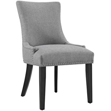 Marquis Fabric Dining Chair Light Gray EEI-2229-LGR