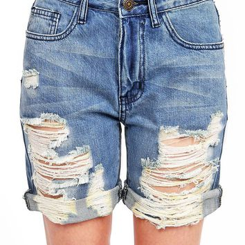 Ripped Fate Shorts