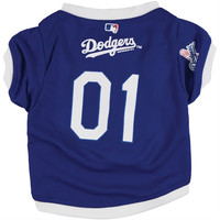 Los Angeles Dodgers - Team Colors Dog Jersey