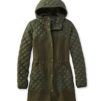 Hybrid Wool Coat, Misses | Free Shipping at L.L.Bean.