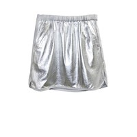 Cynthia Rowley -  Leather Combo Skirt | New Arrivals