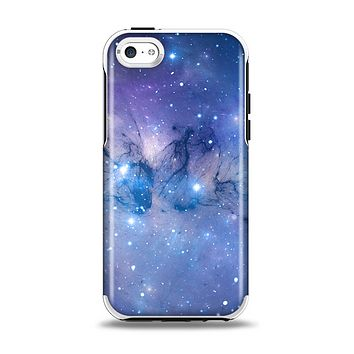 The Blue & Purple Mixed Universe Apple iPhone 5c Otterbox Symmetry Case Skin Set