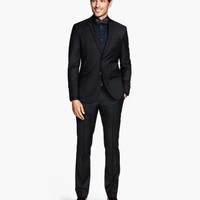 H&M Wool Suit Pants $59.95