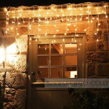 5M Curtain Icicle String Led Fairy Lights Christmas