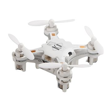Children's Toy Pocket Drone with Remote Control Transmitter Mini Quadcopter RC helicopter White