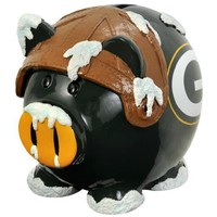Green Bay Packers NFL Team Thematic Piggy Bank (Small)