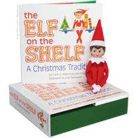 The Elf on the Shelf : A Christmas Tradition (Blue-Eyed Girl) - Walmart.com