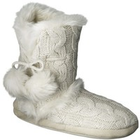 Women's Christina Slipper Booties - Ivory