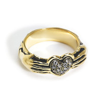 Exclusive 18K Gold Aeternum Ring