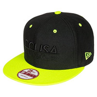 DC Shoes Men's Rd Mcmxcv Snapback Hat Black One Size