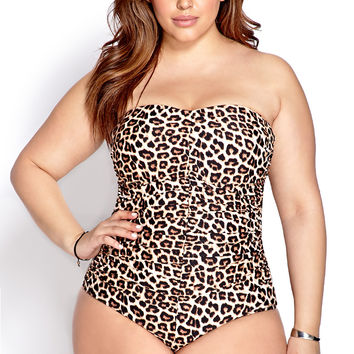 Wild One Strapless Swimsuit