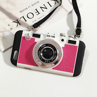 Hot Deal On Sale Cute Iphone 6/6s Stylish Innovative Apple Photographing Iphone Silicone Korean Phone Case [8226137031]