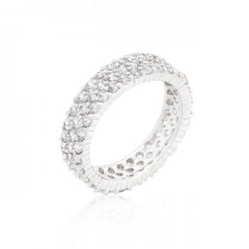 Pave Eternity Ring (size: 09) (pack of 1 ea)