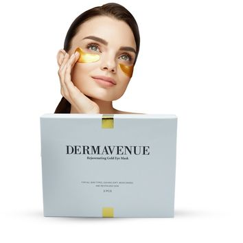 Dermavenue Gold Infused Eye Mask + Gold Infused Face Mask