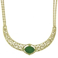 Vintage Jade Collar Necklace