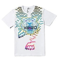 Kenzo Woman Men Fashion Casual Shirt Top Tee