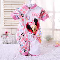 New Baby Clothes Children Pajamas Newborn Baby Rompers Cartoon Infant Cotton Long Sleeve Jumpsuits Boys Girls Spring Autumn Wear