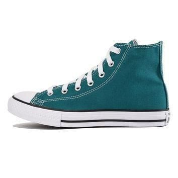 converse for kids chuck taylor all star hi rebel teal sneaker
