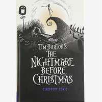 Tim Burton's The Nightmare Before Christmas Cinestory Comic: Collector's Edition Hardcover Book