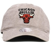 Chicago Bulls Blast Wash Slouch Dad Hat Khaki