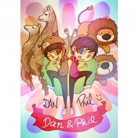 LIMITED EDITION Dan and Phil *hand signed* poster