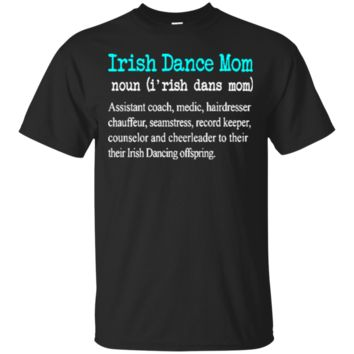 Funny Irish Dance Moms Womens Definition 2630