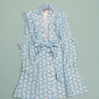 Elena Blouse - Blue Kitten