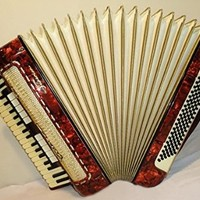 Horch Superior German Piano Accordion, 120 Bass, 13+1 Switches, Rare Keyboard Accordian 185