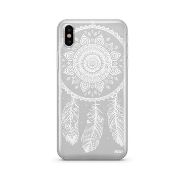 Henna Ojibwe Dreamcatcher - Clear TPU Case Cover Phone Case