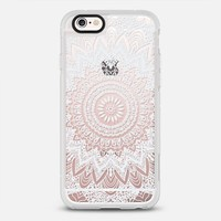 BOHOCHIC MANDALA IN WHITE - CRYSTAL CLEAR PHONE CASE iPhone 6s case by Nika Martinez | Casetify