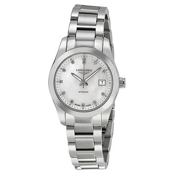 Longines Conquest Classic Ladies Automatic Watch L2.285.4.87.6
