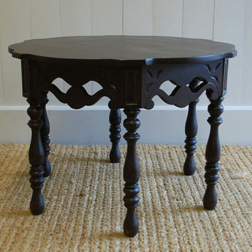 Moroccan Table Black Walnut