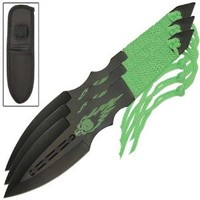 Zombie Killer Vengeful Spirit Three-Piece Throwing Knives